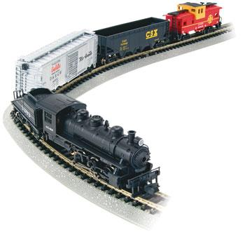 Yard Boss Set -- N Scale Model Train Set -- #24014