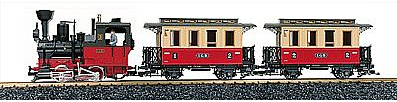 European Passenger Starter Set w/Sound - G-Scale